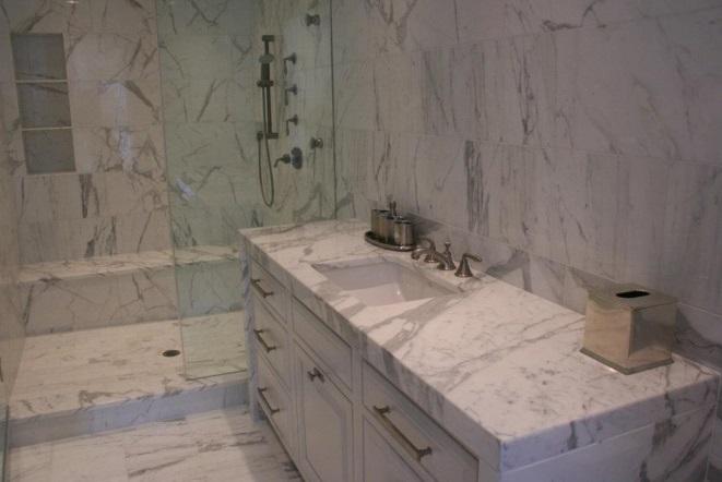 Mönsterpassat kakel och klinker badrum 1
